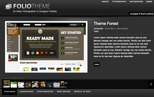 Folio Theme - Wordpress Theme